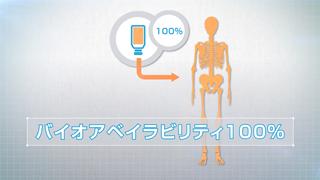 リアルOPCは吸収効率100%