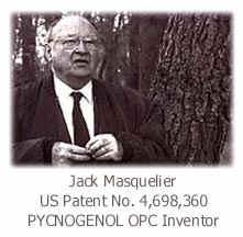 ピクノジェノール OPC 発見者の マスケリエ博士